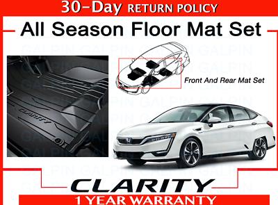 Genuine Oem 2017 2020 Honda Clarity All Season Floor Mat Set 08p17 Trt 110 Ebay
