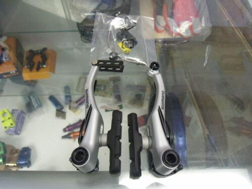 SHIMANO BR-M422 ACERA LINEAR V-BRAKE SILVER FRONT BICYCLE BRAKE