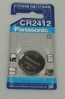 CR2412 Panasonic Knopfzelle Batterie 2412  3V  100mAh