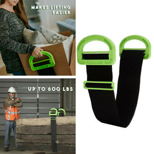 8a720a624ace Details about Adjustable Moving And Lifting Straps For House Move Furniture  Box Mattress Carry