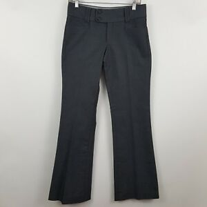 Banana Republic THe Sloan Fit Charcoal/Gray Women's Dress Pants Sz 4 - 29 x 33