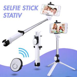 Selfie-Stick-Stange-mit-Stativ-und-Bluetooth-Fernausloeser-fuer-iPhone-Smartphones