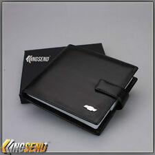 new CHEVROLET PU Leather CD Case Car DVD Holder Men Disc Album Disk Storage Box