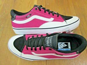 Vans-Mens-TNT-Advanced-Prototype-Skate-shoes-Black-Magenta-White-Size-10-NWT