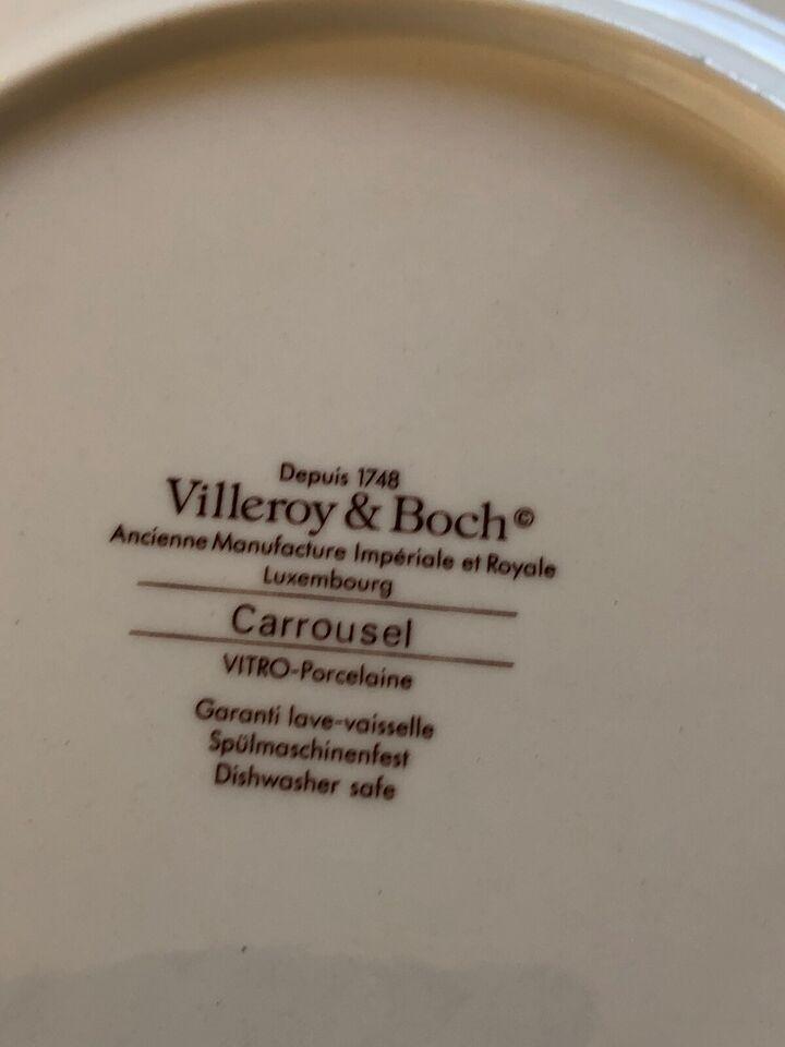 Porcelæn, Et helt stel, Villeroy&Borch Carrousel
