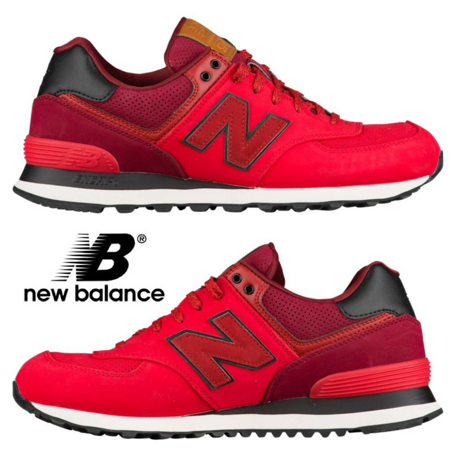New Balance 574 Men's Casual Sneakers Athletic Premium Comfort Gym Walking NIB