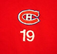MONTREAL CANADIENS med polo shirt #19 hockey Canada embroidery NHL