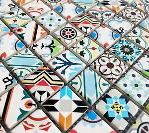 Ceramic Square Mosaic Tiles Moroccan
