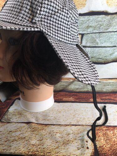 Spirit Halloween Sherlock Holmes Detective Costume Hat One Size Elastic Band New