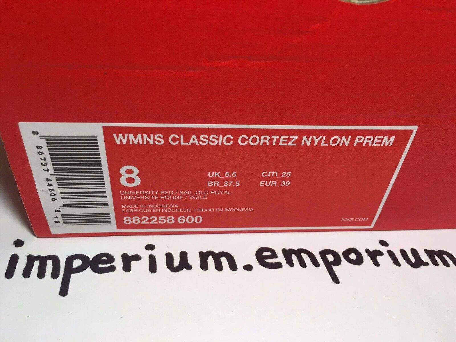 Nike Damen klassisch cortez Nylon Kinderwagen Turnschuhe/Sneakers 4 Größe EU 4 Turnschuhe/Sneakers & 5 2fd5a9