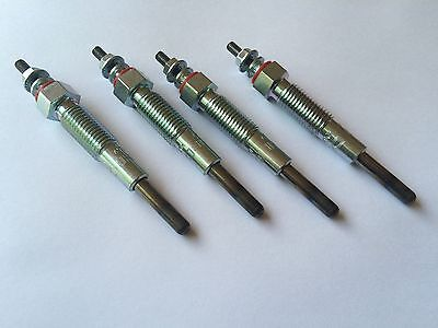 NGK Glow Plug Set of 4 Fits Caterpillar 3024 Engine CAT