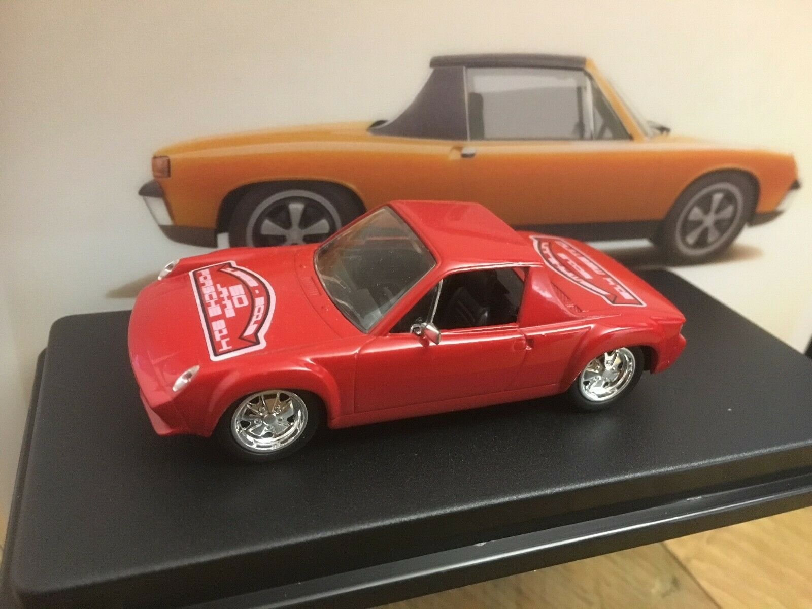 50 ans porsche 914 LIMITED EDITION 1  43 in box état  NEUF