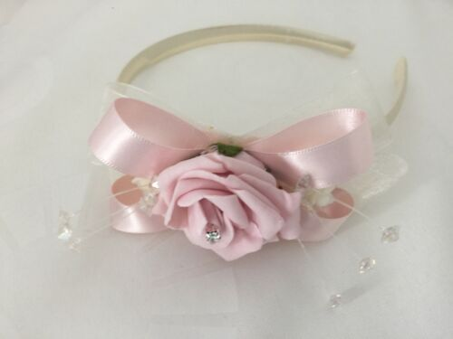Bridesmaid Flower-Girl Wand Wedding Flowers Ivory Rose Baby Pink Bouquet Bride