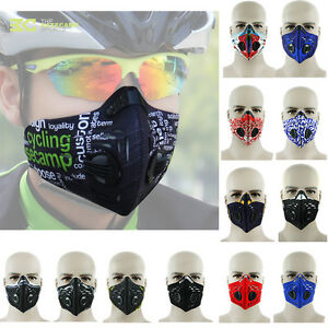 New-Anti-Dust-Pollution-Cycling-Bicycle-Bike-Racing-Ski-Half-Face-Mask-Filter