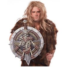 Viking Lord Shield & Sword Costume Accessory Adult Halloween