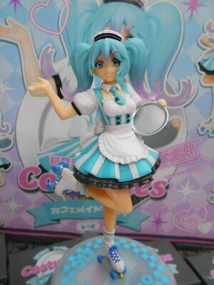 TAITO Hatsune Miku Figure Cafe Maid ver JAPAN OFFICIAL IMPORT
