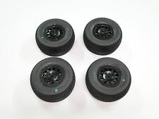 NEW PRO-LINE PRO-2 SC Wheels & Tires Set TRAXXAS SLASH 1/10 2WD UPGRADE PL25