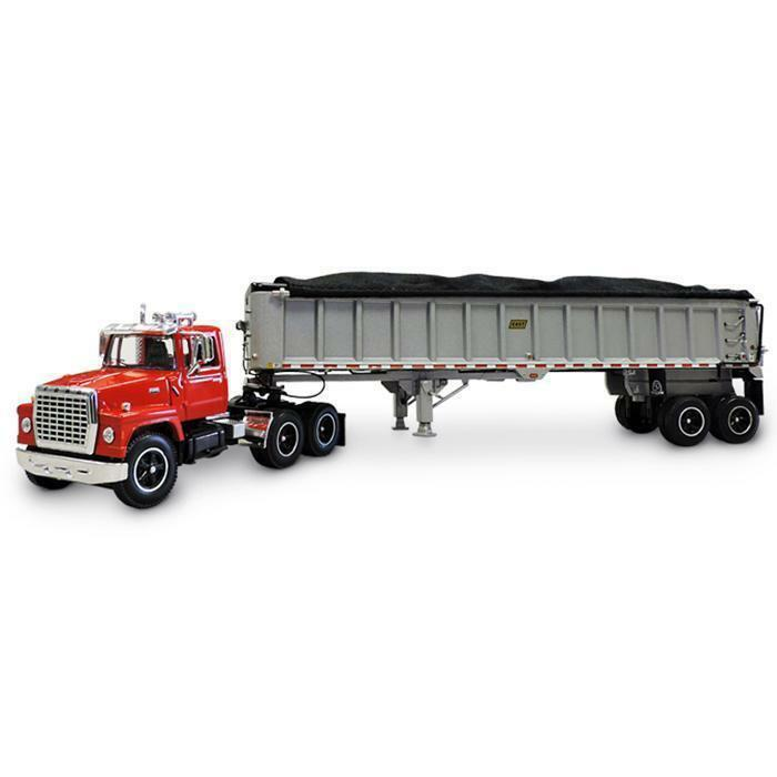 DCP DCP DCP FORD LT 9000 DAY CAB EAST MANUFACTURING 50 EAST END DUMP TRAILER 1 64 34142 be47b5