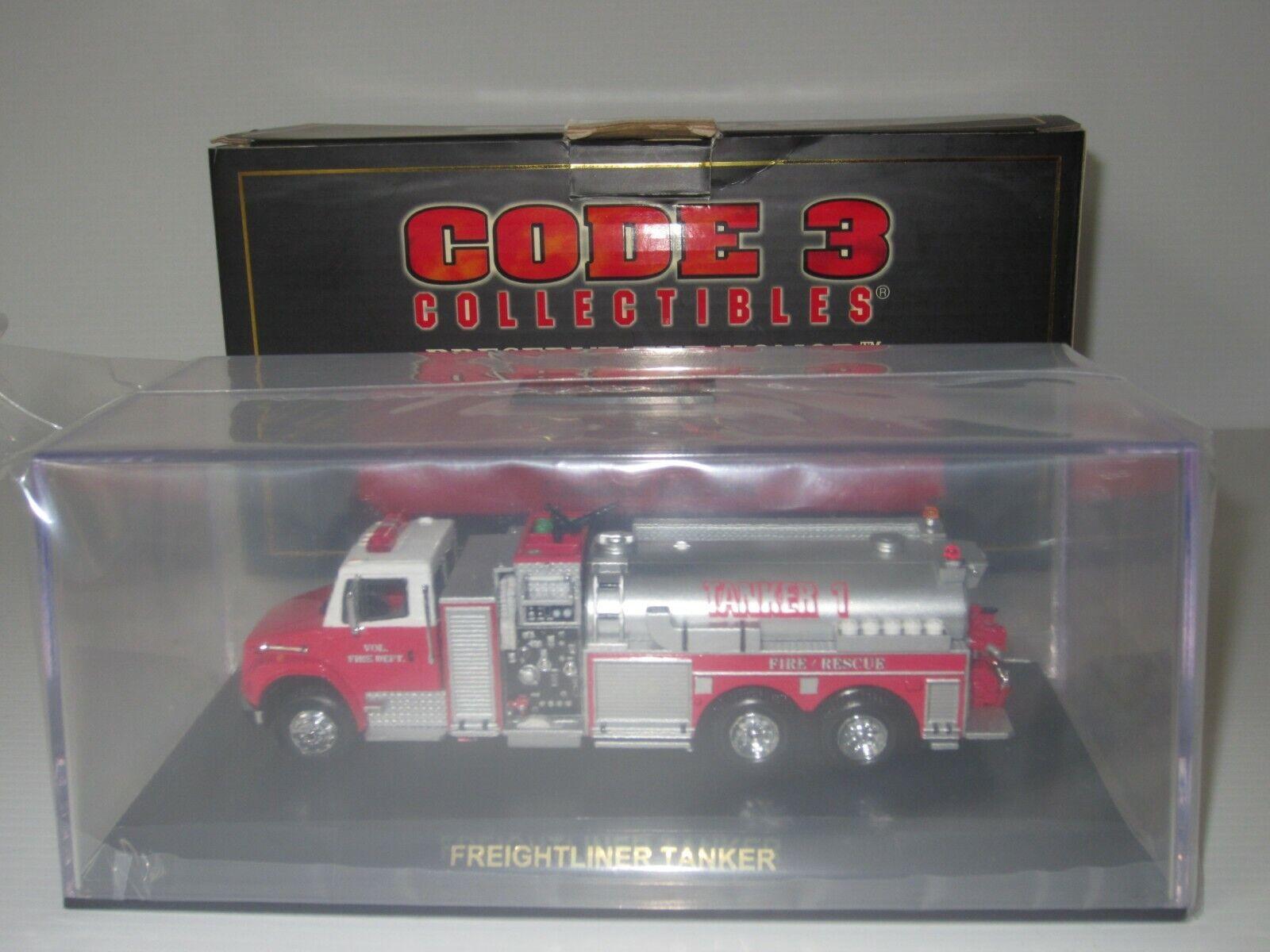 CODICE 3, FDNY, Freightliner Cisterna, Camion dei pompieri, scala 1:64 collezionisti Club #12630