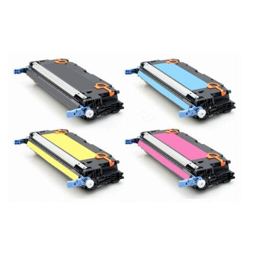4 PK Q6470A Q6471A Q6472A Q6473A Color Toner Cartridges2 Set for HP 3600 3600N