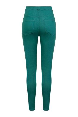 Ex m/&s Jeggings Avec 2 Poches Femme Femmes Extensible à Enfiler Pantalons Leggings