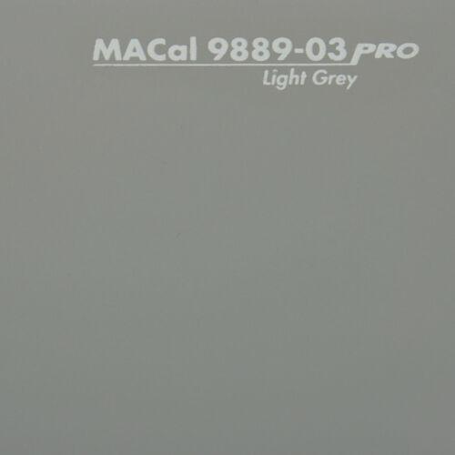 7,32 € //m Autofolie PKW KFZ Folie hellgrau glänzend 61,5 cm 3 m