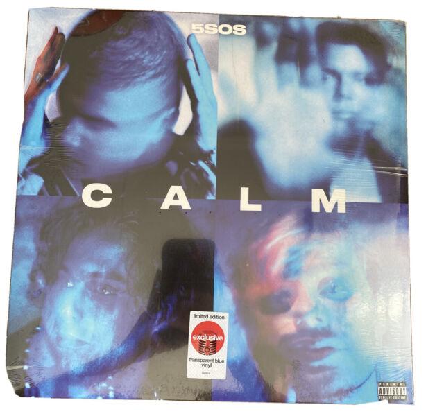 5 Seconds Of Summer Lp Record Calm Transparent Blue Colored Vinyl 2020 5sos Five For Sale Online Ebay
