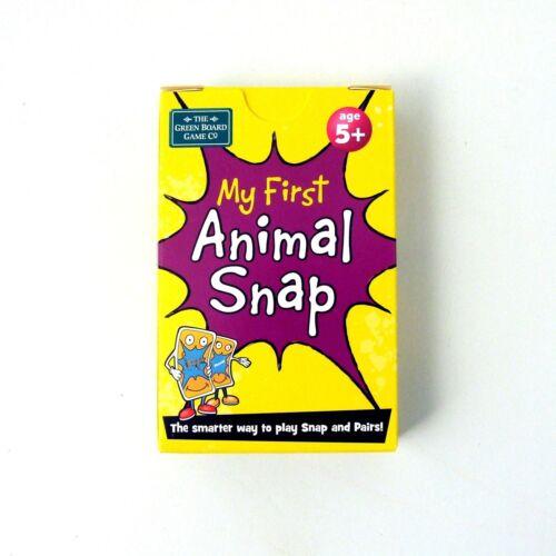 Snap Pairs Cards Animals Memory Game Brainbox