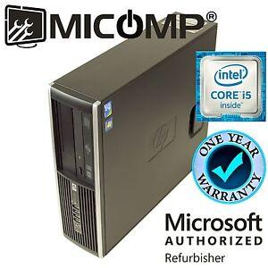 Fast-HP-Pro-SFF-Computer-PC-Intel-Quad-Core-i5-2400-3-1Ghz-4GB-RAM-No-Software