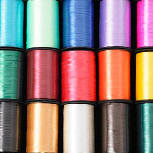 ART FLORAL Curling Ruban 500 M Reel ballon cravate Curly Cadeau Ruban Artisanat Qualité