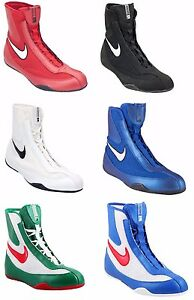 4649b0df308 Details about NEW NIKE MACHOMAI MID BOXING SHOES
