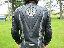 Yamaha motorcycle racing leather jacket riding jacket