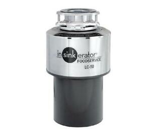 In-Sink-Erator LC-50 Light Duty Commercial Disposer w/ Mounting Gasket