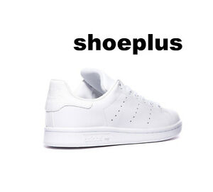 Image is loading adidas-Stan-Smith-034-All-White-034-Women-