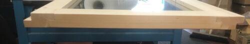 Karibu Saunafenster 58,2 x 204 cm klarglas für 38//40mm Wände