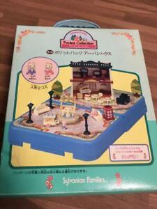 Sylvanian-Families-Pocket-Bag-Urban-House-Miniatures-Doll-House-Calico-Critters
