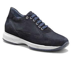 KEYS-3001-BLU-scarpe-uomo-sneakers-pelle-camoscio-tessuto-casual-interactive