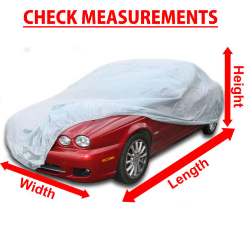 BREATHABLE CAR COVER FITS JAGUAR X-TYPE FAST DELIVERY