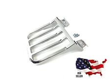 HARLEY DAVIDSON SOFTAIL DELUXE HERITAGE CLASSIC CHROME LUGGAGE RACK for BACKREST