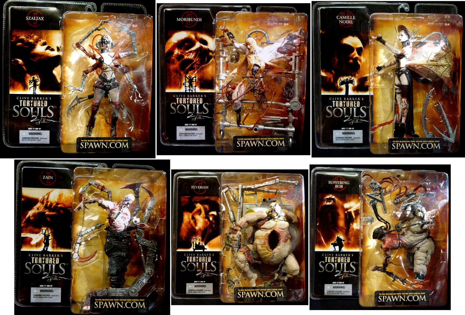 Clive Barker Tortured Souls Series 2 Action Figure Set McFarlane Toys Amricons