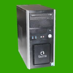 PC System Terra Midi Tower I3-4170 3,7 GHz 4 GB RAM 256 GB SSD WIN10 Pro