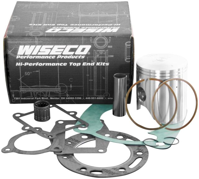 Wiseco PK1590 90.50 mm 9.5:1 Compression ATV Piston Kit with Top-End Gasket Kit