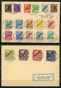Berlin-MiNr-1-20-gestempelt-auf-Briefen-Fotoattest-Schlegel-MA1082