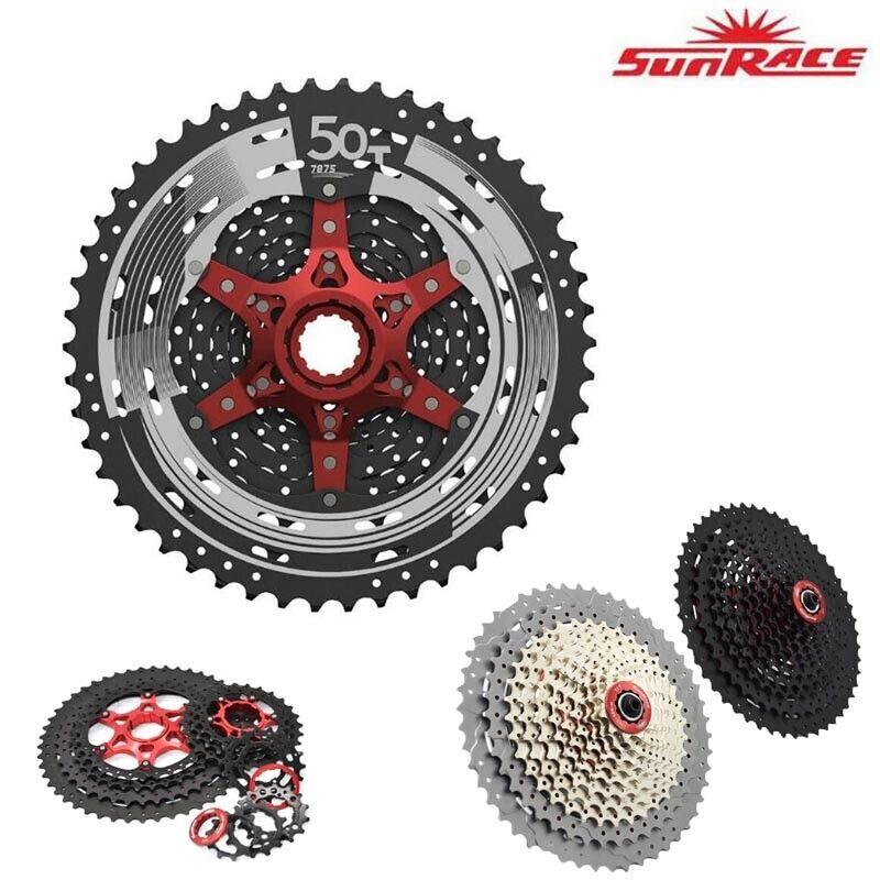 SunRace CSMX80 Rennrad Mountainbike Kettenrad 11-fach 11-50T MTB + Schaltwerk