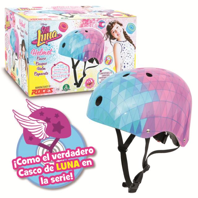 Soy Luna Protection Helmet Roller skates Bike Girl Disney Serie TV One Size 2017