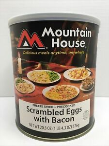 Mountain House Scrambled Eggs,bacon  Freeze Dried Survival & Emergency Food...