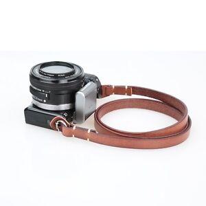 CANPIS-Brown-Genuine-Leather-Camera-Neck-Shoulder-Strap-for-SLR-DSLR-Leica-Fuji