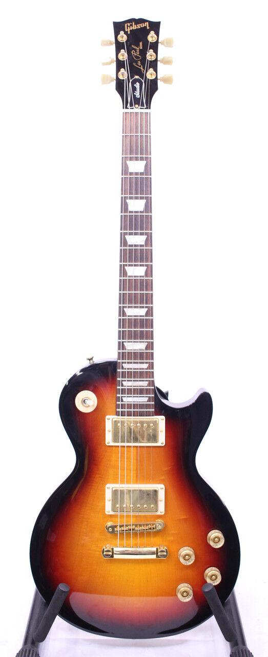 Gibson Les Paul Studio Fireburst gold Hardware CASE 2011