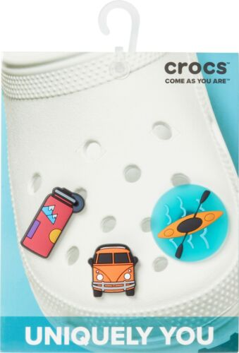 Original Crocs Jibbitz Anstecker 3er Set 10007845 Water Bottle