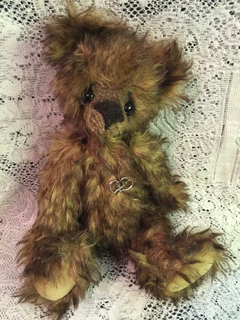 RUM KAYCEE BEARS LIMITED EDITION MOHAIR DESIGNED BY KELSEY CUNNINGHAM
